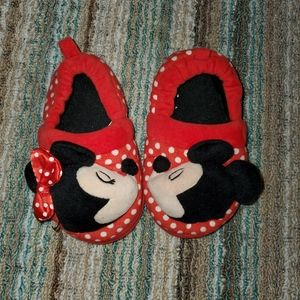 Minnie Mouse Slippers Toddler Size 7-8